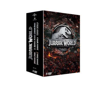 Jurassic ParkCOFFRET JURASSIC WORLD 1-5-FR
