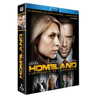HomelandHomeland Saison 2 Edition spéciale Fnac Coffret Blu-ray