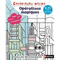 Coloriages malins - Opérations magiques CM1-CM2