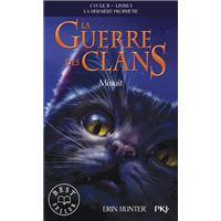 La guerre des Clans - cycle II La dernière prophétie - tome 1 Minuit -poche-