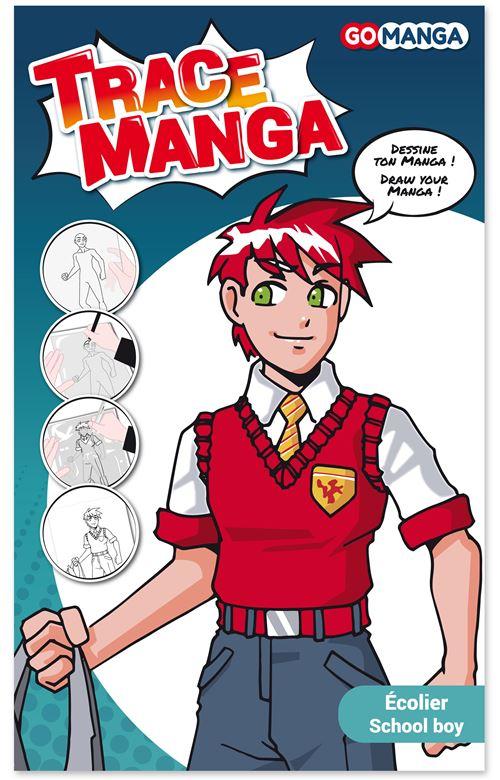 """GO MANGA - TRACE MANGA """"ECOLIER"""""""