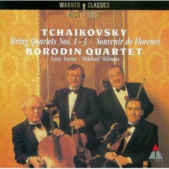 Tchaikovsky string quartets