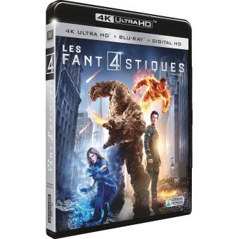 Les 4 fantastiquesLes 4 Fantastiques Blu-ray 4K Ultra HD