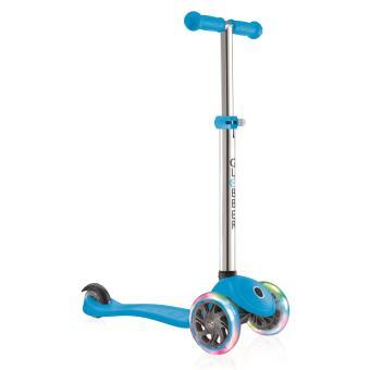 trottinette 3 roues globber primo lights bleue trotienette rollers achat prix fnac. Black Bedroom Furniture Sets. Home Design Ideas
