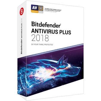 Bitdefender Antivirus Plus 2018 2 Ans 3 Postes