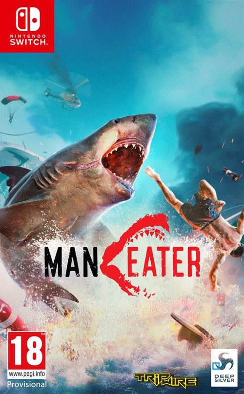 Maneater Day One Edition Nintendo Switch