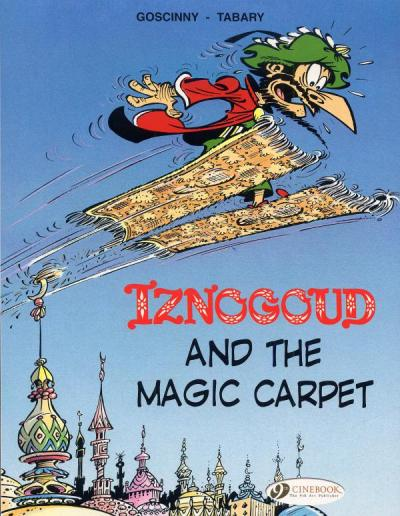Iznogoud - tome 6 And the magic carpet