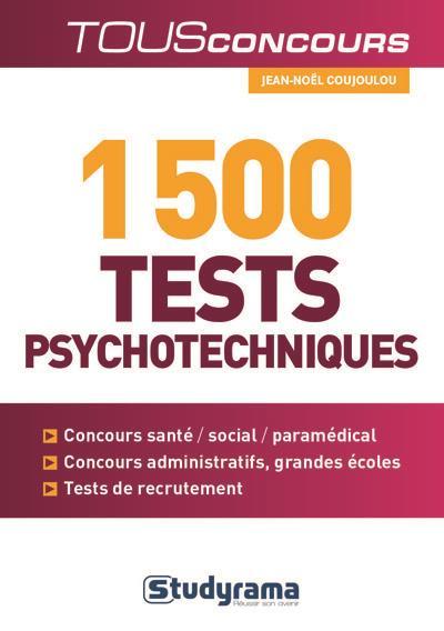 1500 tests psychotechniques