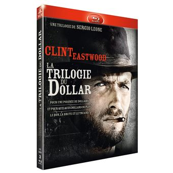 Coffret Trilogie du dollar Version 2016 3 films Blu-ray
