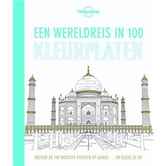 Een wereldreis in 100 kleurplaten