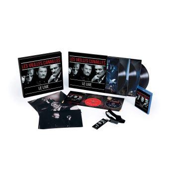 Les vieilles canailles L'album Live Coffret Collector Edition Limitée Numérotée