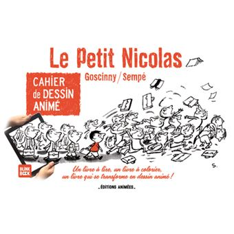 Le Petit Nicolas Tome 1 Cahier De Dessin Anime