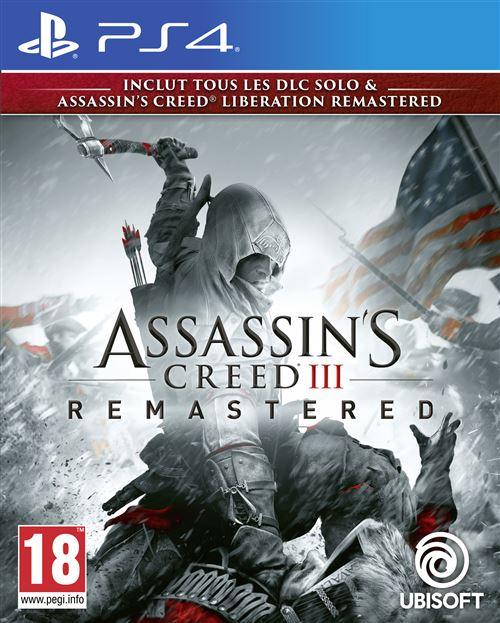 Assassins Creed 3 + Assassins Creed Liberation Remastered PS4