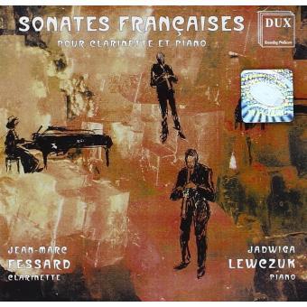 Sonate pour clarinette et piano - Sonates, opus 85 et 86