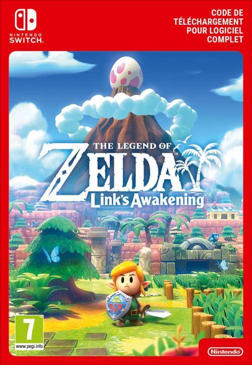 Code de téléchargement The Legend of Zelda Link's Awakening Nintendo Switch