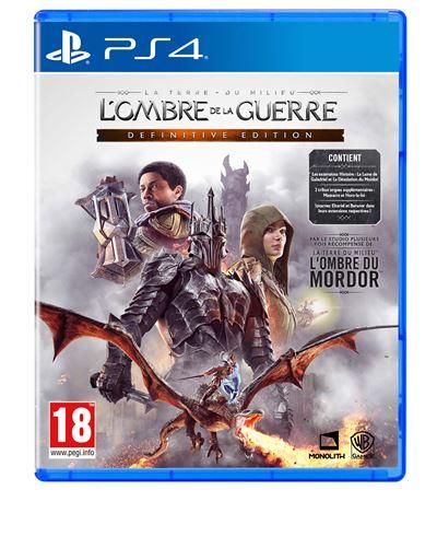 La Terre du Milieu L'Ombre de la Guerre Edition Définitive PS4