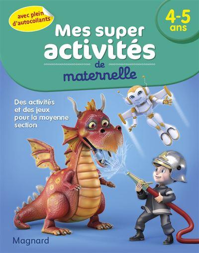Mes super activités Pompiers, robots et dragons