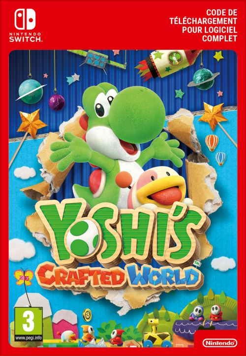 Code de téléchargement Yoshi's Crafted World Nintendo Switch