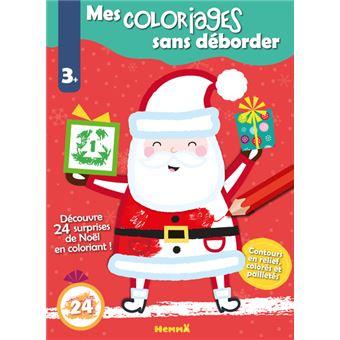 Mes coloriages sans déborder (Noël)   broché   Collectif   Achat