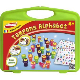 Petite mallette de tampons alphabet - Joustra corf5f0F