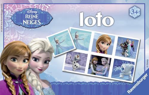 L'enfant part à la découverte de La Reine des Neiges et complète sa planche de loto en identifiant les images identiques. Il développe ainsi son sens de l'observation et sa capacité d'association ! Le jeu de loto pour les enfants et pour les parents avec