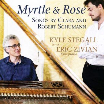 Myrtle And Rose Mélodies de Robert et Clara Schumann