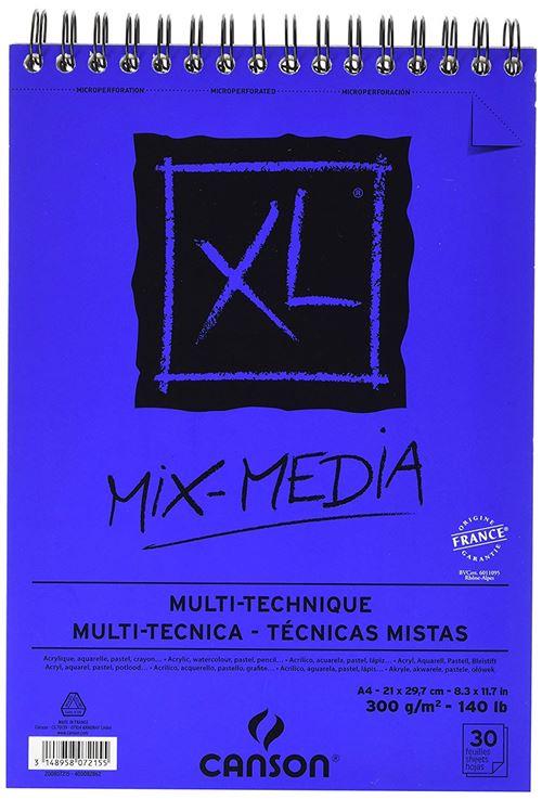 Bloc de 30 feuilles A4 Canson XL® Mix-Media