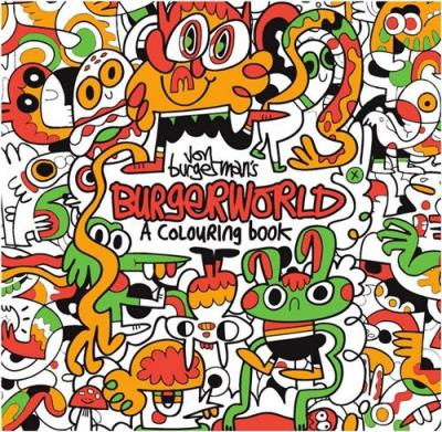 Jon Burgerman's Burgerworld