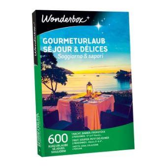 Coffret cadeau Wonderbox Séjour et délices