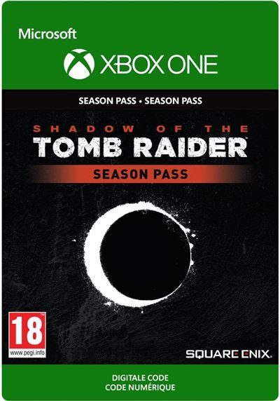 Code de téléchargement Shadow of the Tomb Raider Season Pass Xbox One