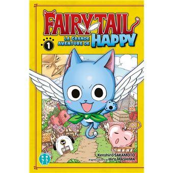 Fairy tailLa grande aventure de Happy