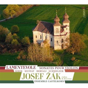 Lamentevole/sonates pour violon/digipack
