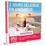 SMAR Coffret cadeau Smartbox 3 Jours délicieux en amoureux