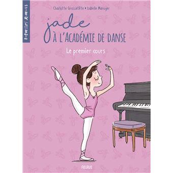 Jade à l'Académie de danseLe premier cours