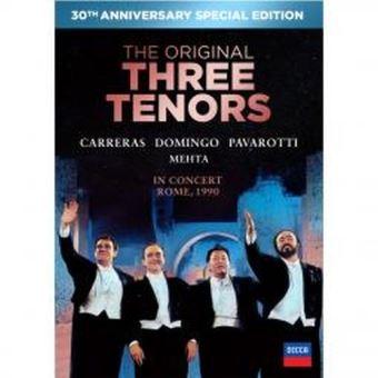The Three Tenors 30th Anniversary Edition Ed Limitada - DVD + CD
