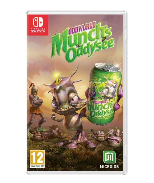 Oddworld Munch's Oddyssee Nintendo Switch