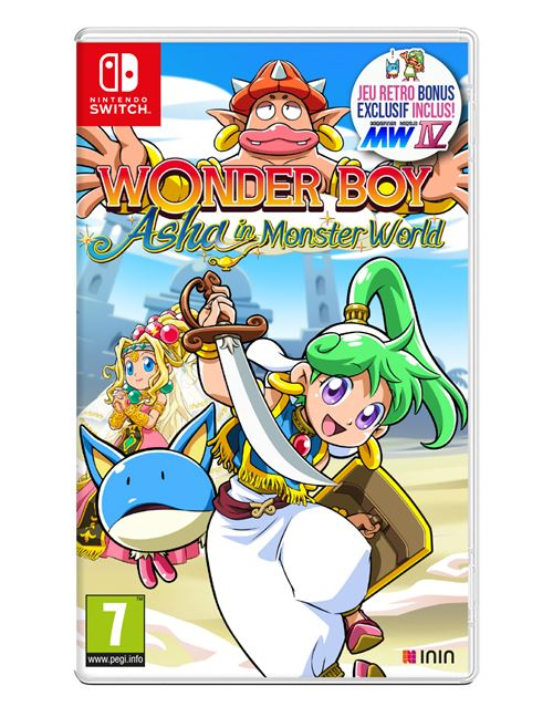 NINTENDO SWITCH, le topic généraliste officiel ! - Page 6 Wonderboy-asha-in-Monster-World-Nintendo-Switch