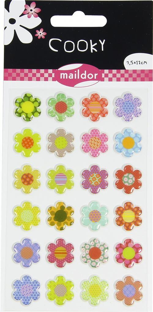 Stickers Maildor Cooky Fleurs