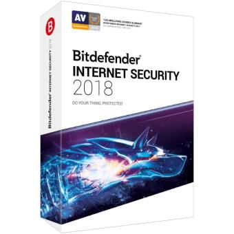 Bitdefender Internet Security 2018 1 An 5 Postes