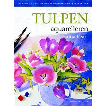 Tulpen aquarelleren
