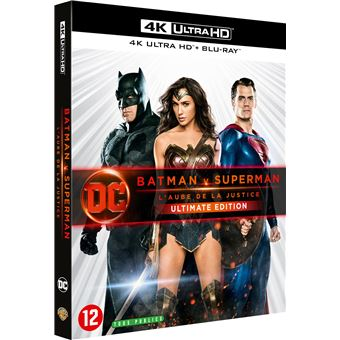 Batman vs. SupermanBatman V Superman L'aube de la justice Version Longue Ultimate Edition Blu-ray 4K