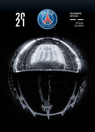 Calendrier du PSG 2021   broché   Collectif   Achat Livre | fnac