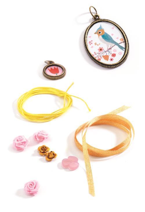 Kit de création Oh! Les perles Perles et Fleurs Djeco