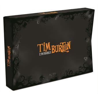 Tim Burton Coffret 18 films DVD