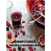Confitures, gelées et marmelades