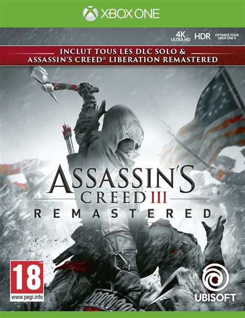 Assassins Creed 3 + Assassins Creed Liberation Remastered Xbox One