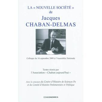 Le discours de Jacques Chaban-Delmas sur la nouvelle société