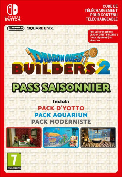 Code de téléchargement Dragon Quest Builders 2 Expansion Pass Nintendo Switch