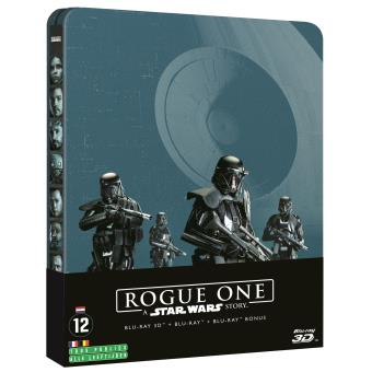 Star WarsRogue One : A Star Wars Story Steelbook Blu-ray 3D + 2D