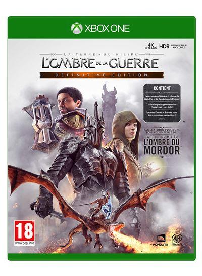 La Terre du Milieu L'Ombre de la Guerre Edition Définitive Xbox One